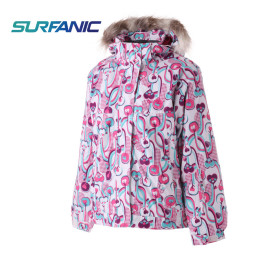 Campera Surfanic Rose - Niña