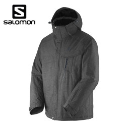 Campera Salomon Impulse Charcoal - Hombre