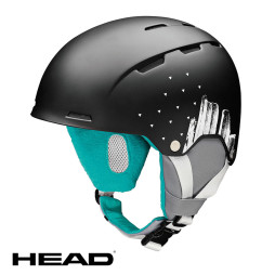 Casco Head Ski Arosa Black