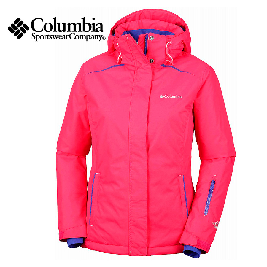 c1f77df29a36a Campera impermeable Columbia On The Slope – Mujer.  banercito stock deporcamping