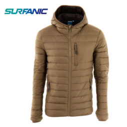 Campera Surfanic Polar Hooded pluma - Hombre